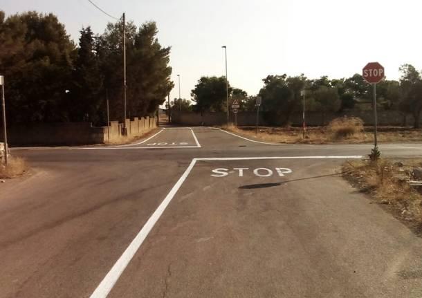 Nardò, un anno dopo la tragedia rifatta la segnaletica stradale