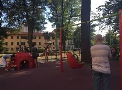 parchetto piazza Risorgimento Gallarate