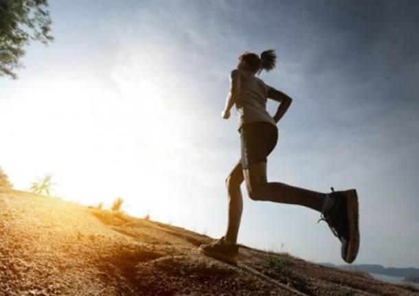 podismo generica corsa in salita