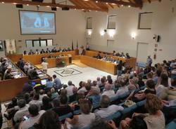 Primo consiglio comunale Gallarate 2016