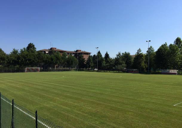Raduno Varese calcio