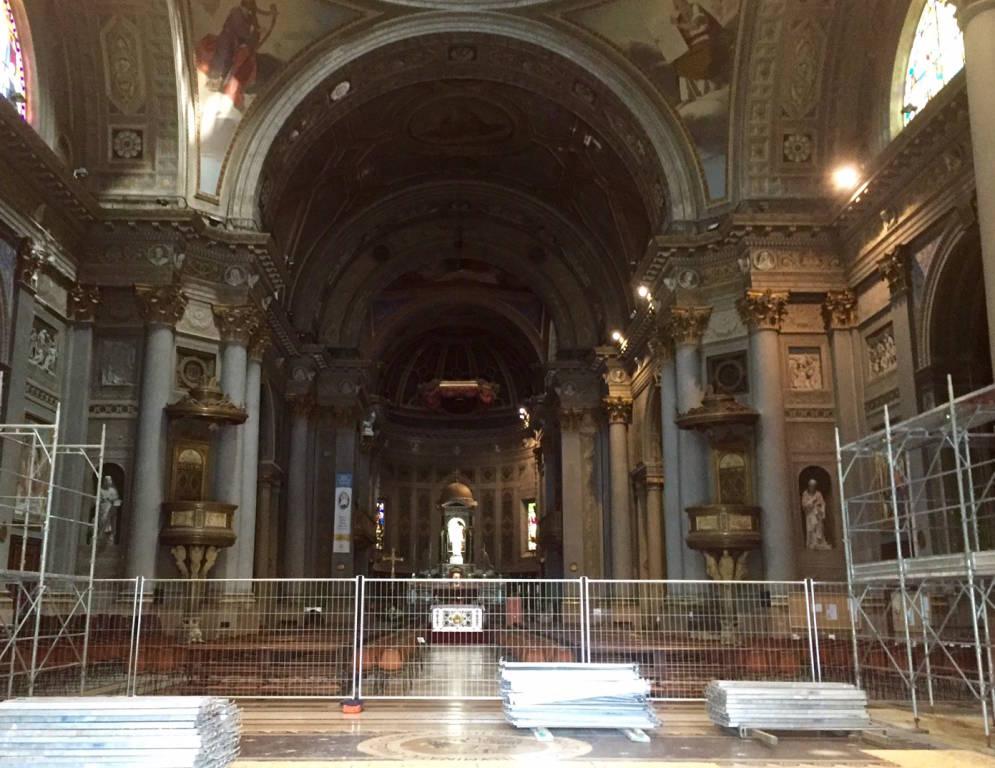 Restauro Basilica Gallarate