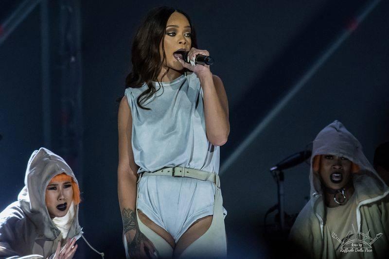 Rihanna in concerto a San Siro