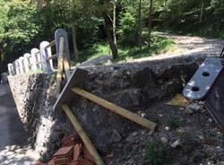 Saltrio - vandali al rifugio monte pravello