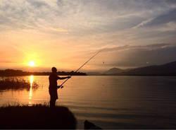 Tramonto  sul lago di Varese - foto di Alessio Crespi