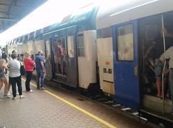 treno pieno frecce tricolori