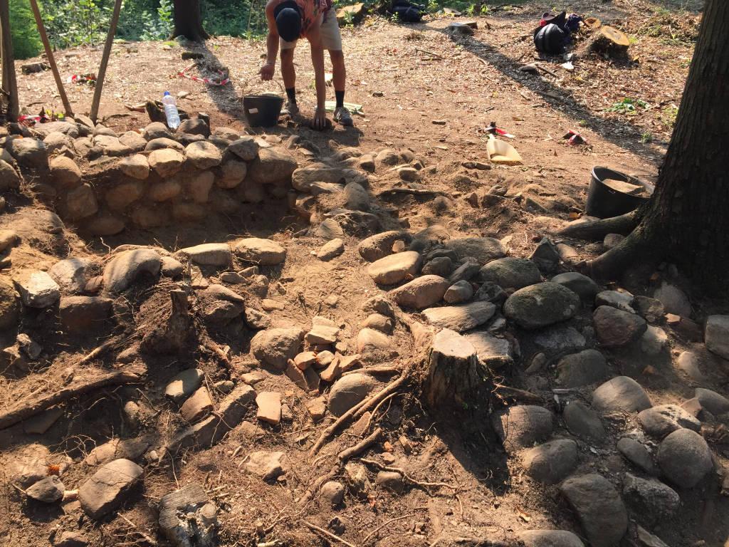 Trovato borgo medioevale a Castelseprio