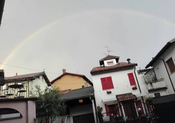 L'arcobaleno in Valceresio