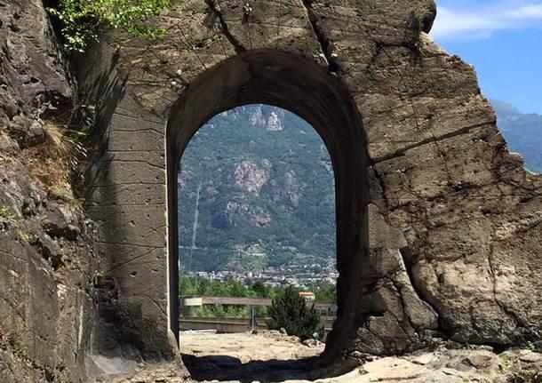 Via Francigena: da Verrés a Pont Saint-Martin