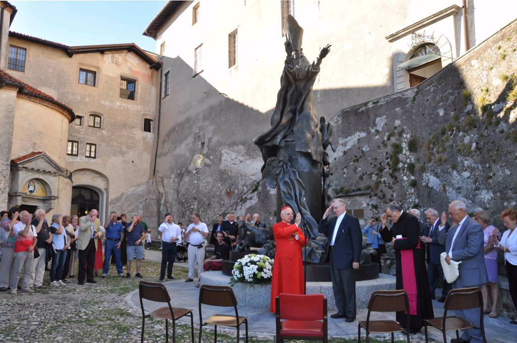 Al Sacro Monte la messa in ricordo di Paolo VI