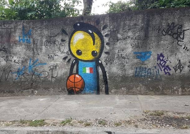 """L'Italia """"rimane"""" a Rio con la street art"""