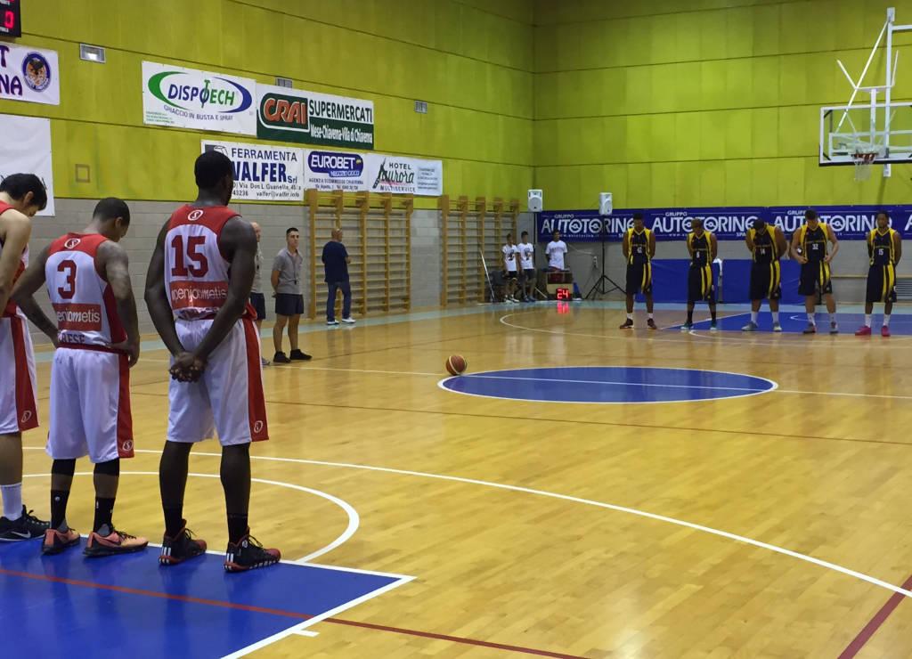 Basket amichevole pallacanestro varese