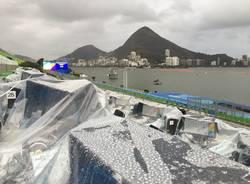 canottaggio maltempo olimpiadi rio