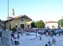 La nuova Piazza Galvanigi di Gazzada