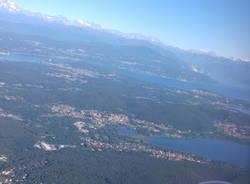 La Provincia di Varese dall\'alto