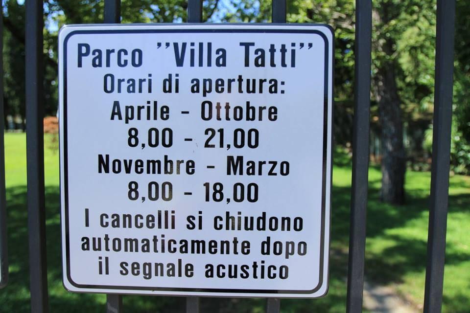 I Lego in gita a Villa Tatti Talacchini