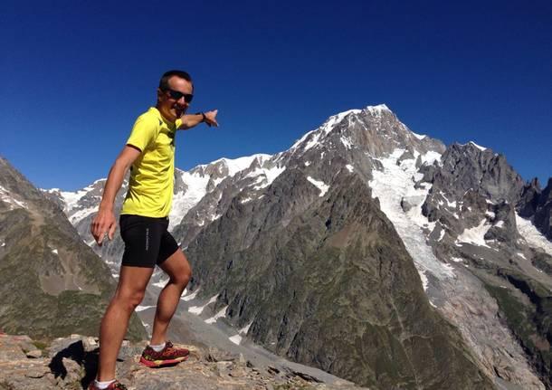 In attesa dell'ultra trail del Monte Bianco