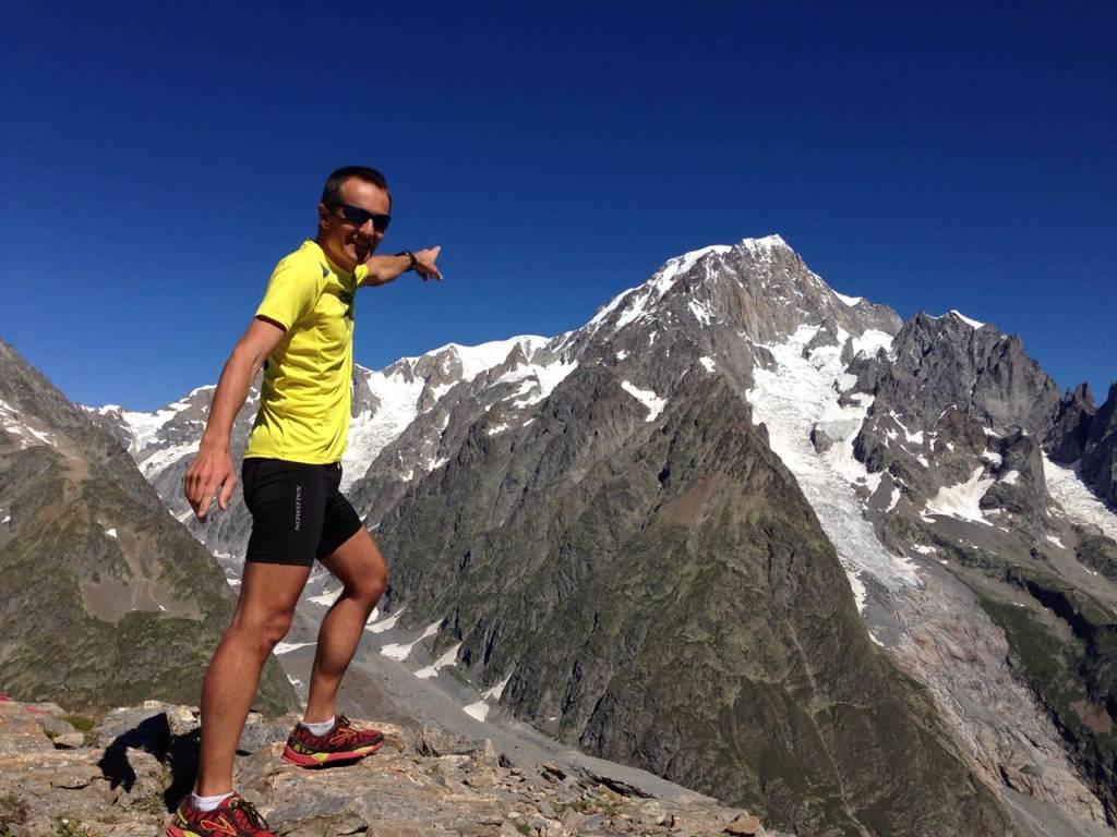 In attesa dell\'ultra trail del Monte Bianco