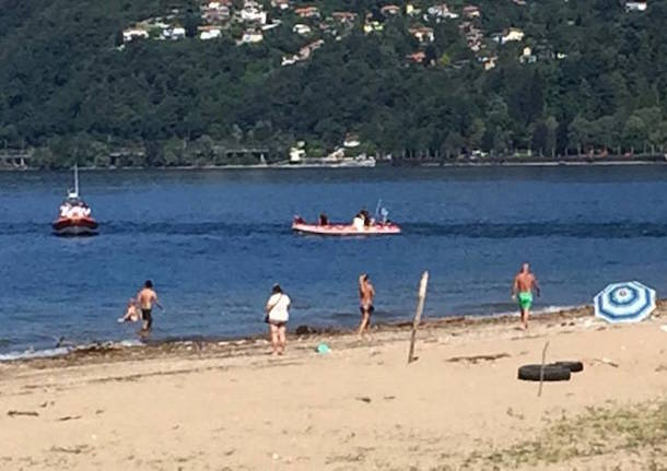 Annegato giovane nel lago Maggiore