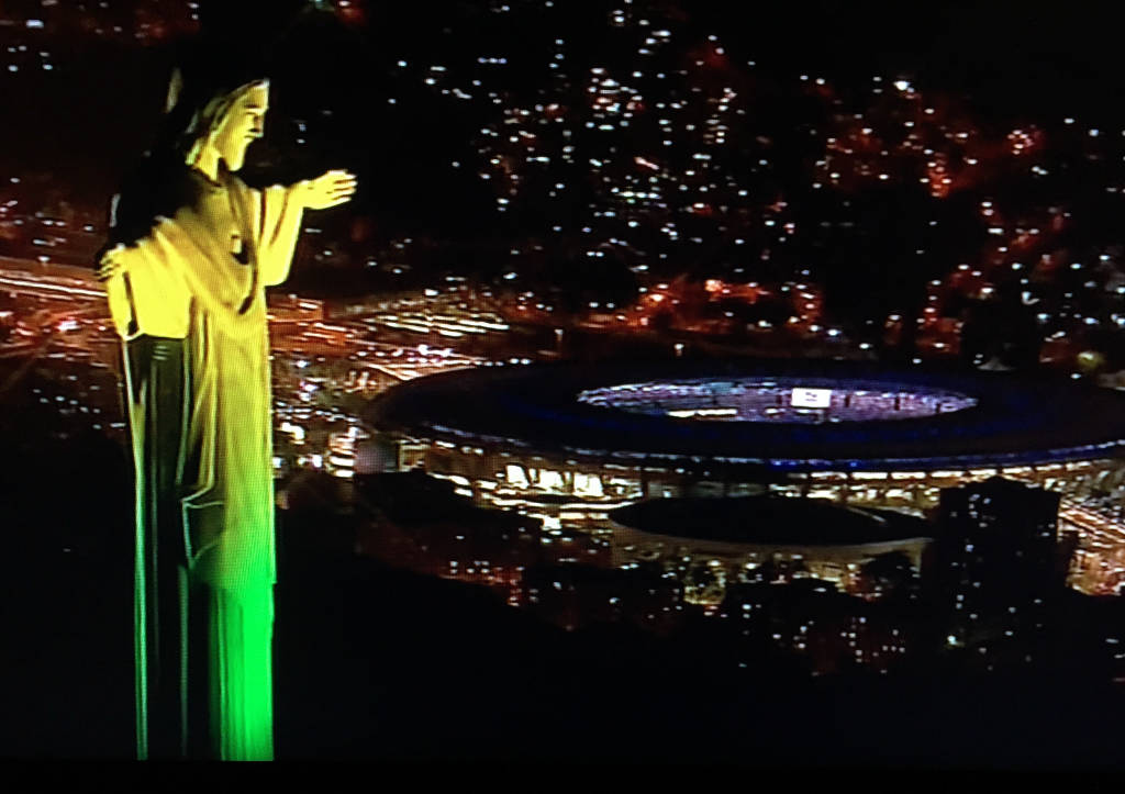 Cerimonia inaugurale olimpiadi Rio 2016