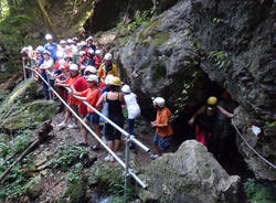Cunardo - bambini in grotta