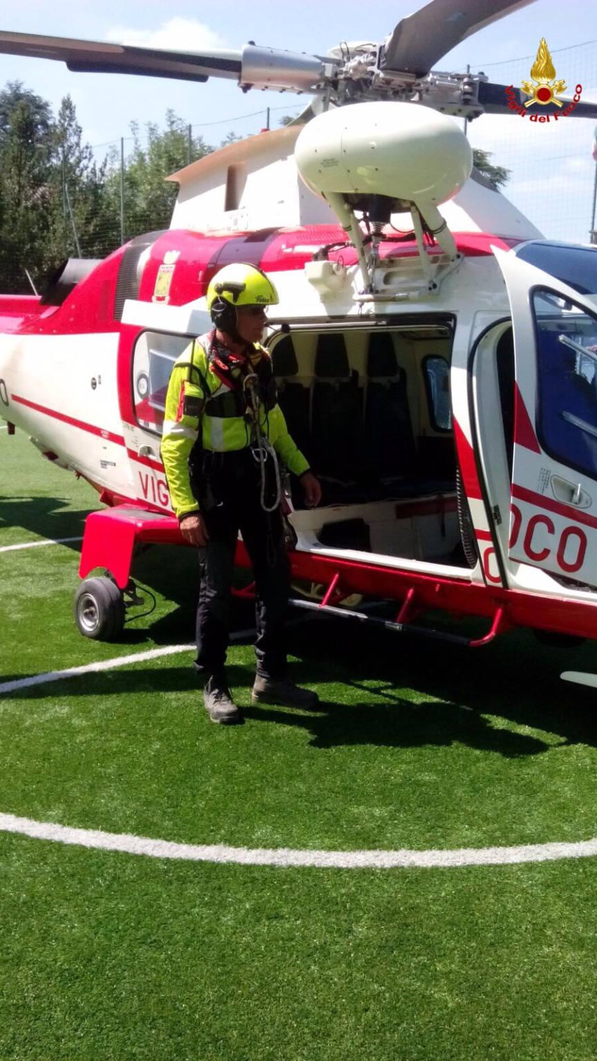 Due escursionisti soccorsi a Brunate
