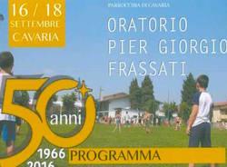 festa oratorio Cavaria