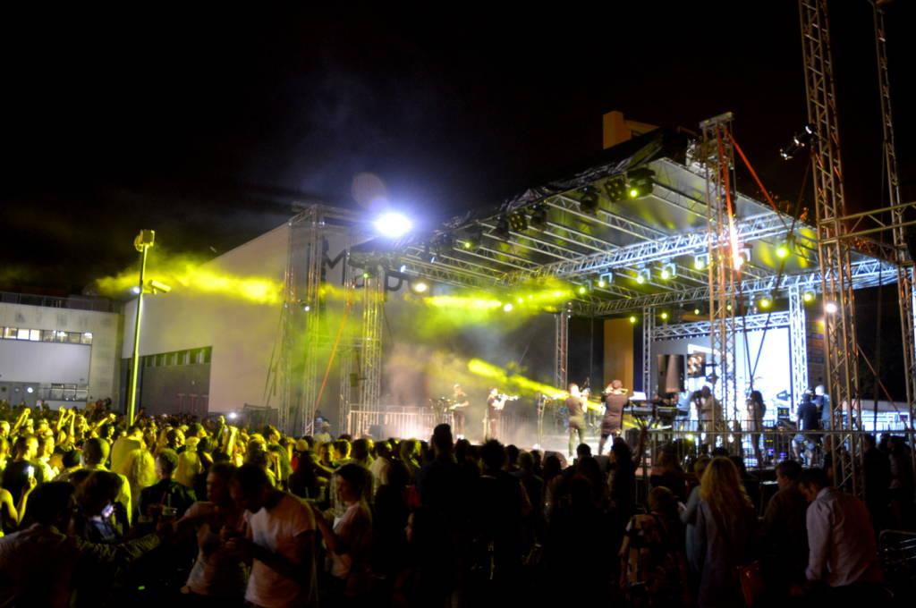 """Il concerto di """"Gente de zona"""" a Malpensa Fiere - foto di Marco Introini"""