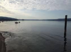 Il Lago Maggiore in secca