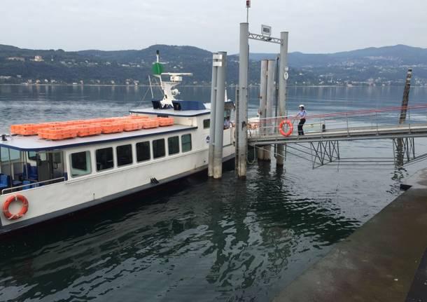 La siccità nel Lago Maggiore