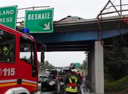 incidente autostrada besnate