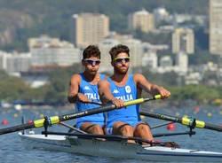 olimpiadi canottaggio abagnale di costanzo bronzo
