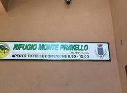 Saltrio - Rifugio monte Pravello sistemato dopo i vandalismi