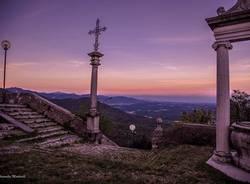 Scende la sera a Sacro Monte