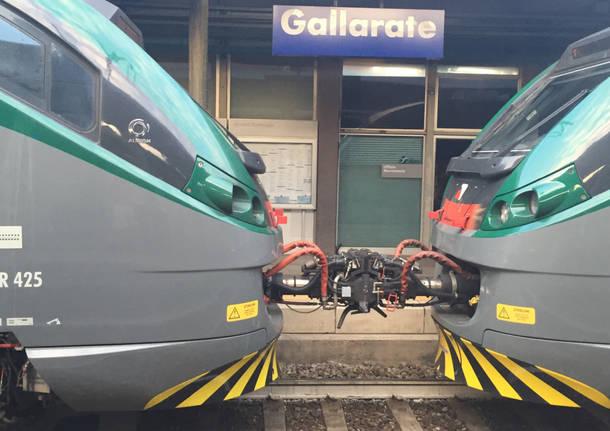 Trenord Stazione Gallarate ferrovia