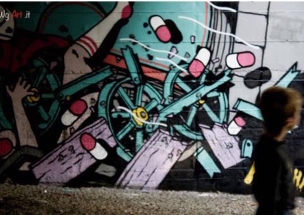 Street Art: i murales a Varese firmati Wg Art.it