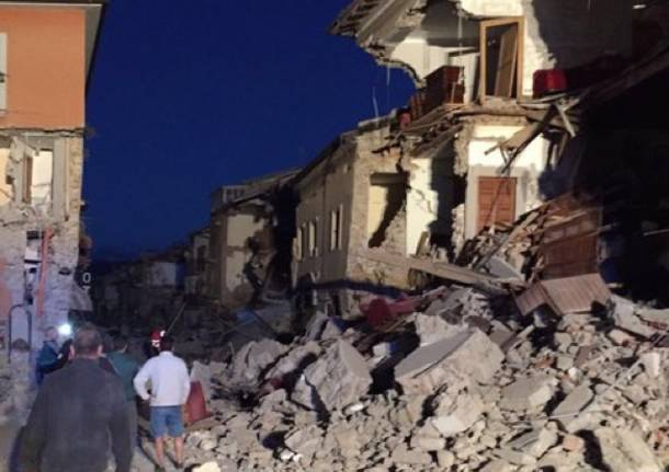 Terremoto. 73 i morti ad Amatrice, Arquata e Pescara del Tronto