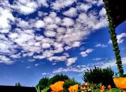 estate cielo meteo foto di tiziana ossola