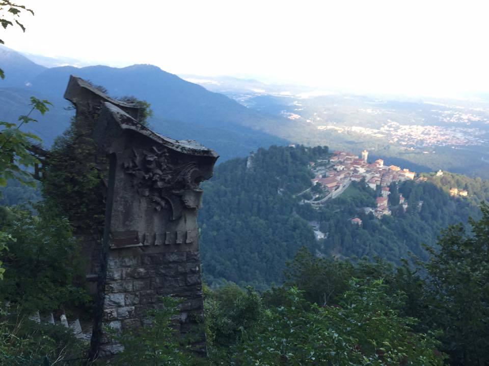 Vista dal Campo dei Fiori - foto di Mara Dell'Orto