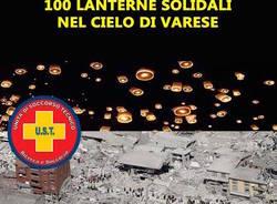 100 lanterne solidali sopra Varese