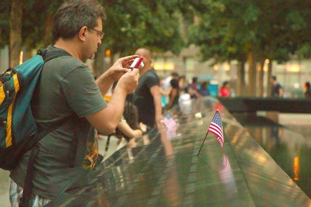 11 settembre, il memorial Ground Zero