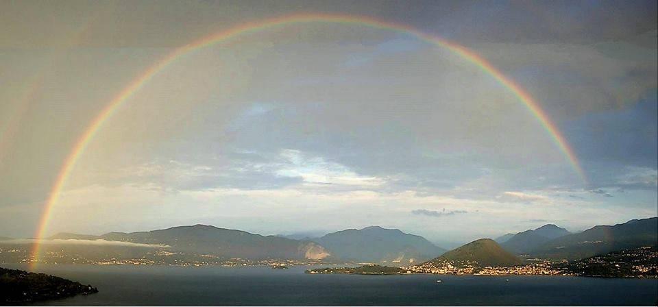 arcobaleno lago maggiore monteggia