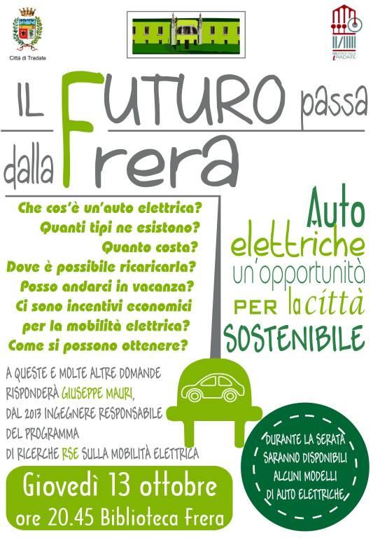 Auto elettriche un\'opportunità per la città sostenibile