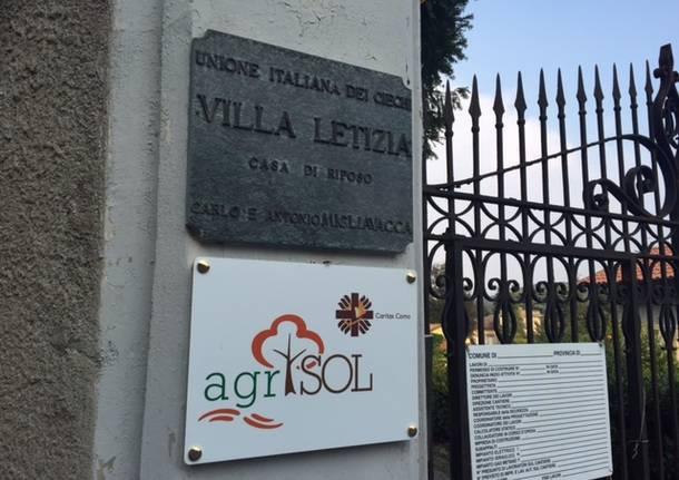 Villa Letizia, dove i richiedenti asilo aspettano