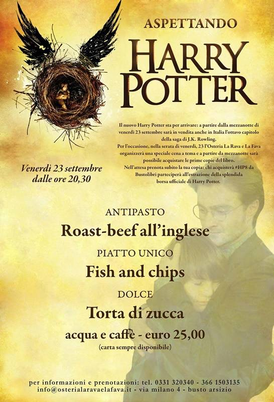 Aspettando Harry Potter 8