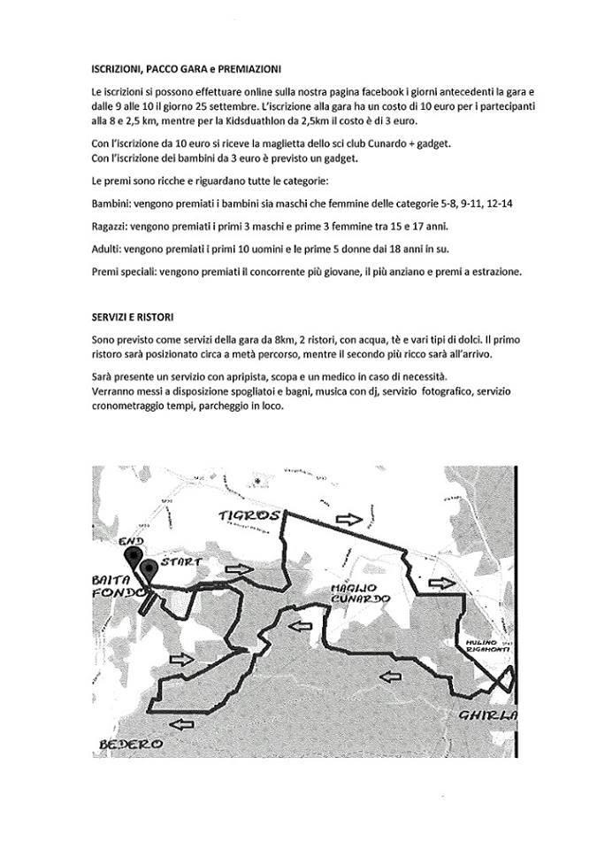GRILL & RUN - 1° CORSA DEL FONDISTA