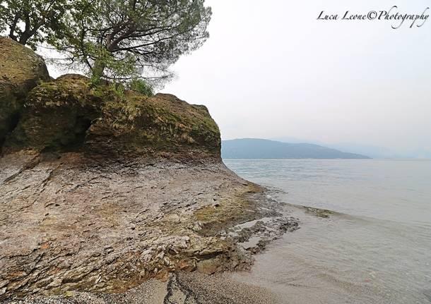 Spiagge lunghe sul Verbano: è magra