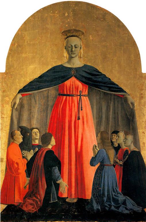 Madonna della Misericordia nell'arte: da Piero della Francesca a Weinert