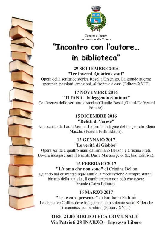 Incontri con l\'autore...in biblioteca