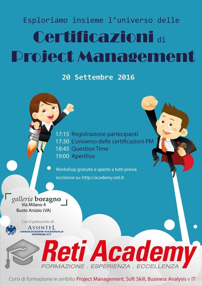 Esploriamo insieme l\'universo delle certificazioni di Project Management